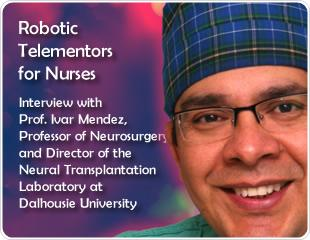 Robotic Telementors for Nurses