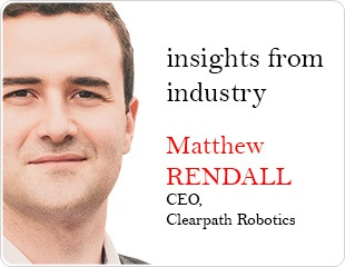 Automated Robots for the Land Mining Industry: An Interview with Matthew Rendall, CEO at Clearpath Robotics